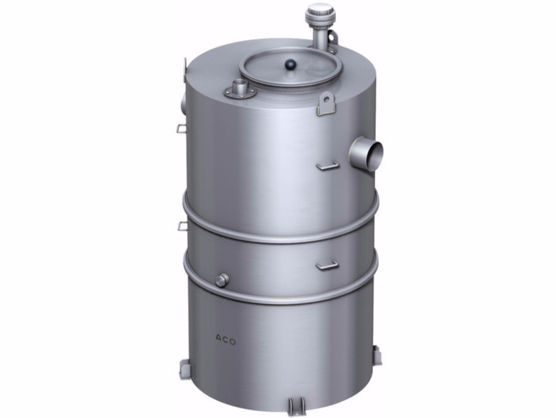 Oil separator, de-oiler and grease separator ACO Coalisator RD by ACO PASSAVANT