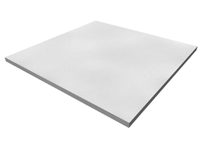 Acoustic mineral fibre ceiling tiles ACOUSTIC HYGENA by Knauf Italia