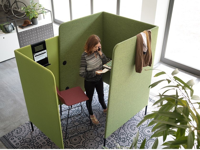 Acoustic office booth M.ZONE | Acoustic office booth by Wiesner-Hager