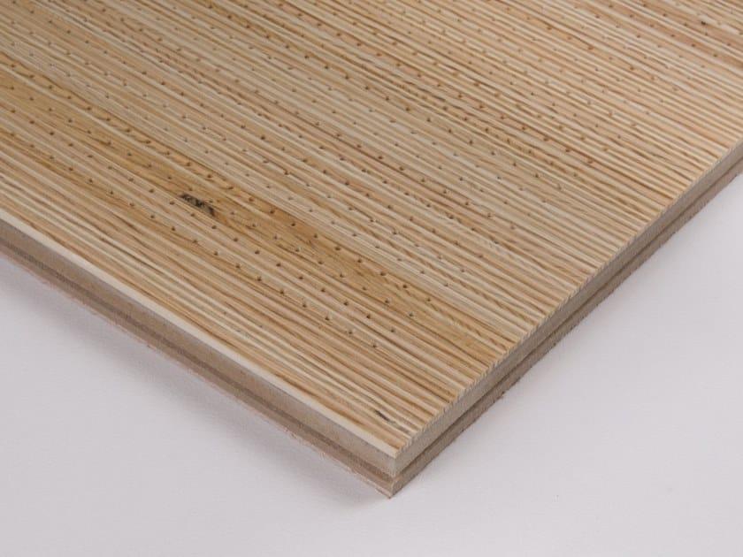 Piastrella per pareti e soffitti Acustico - Piastella by Plexwood