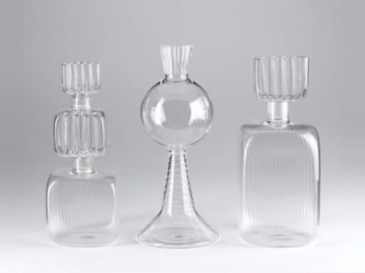 Borosilicate glass vase ACQUA by Paolo Castelli