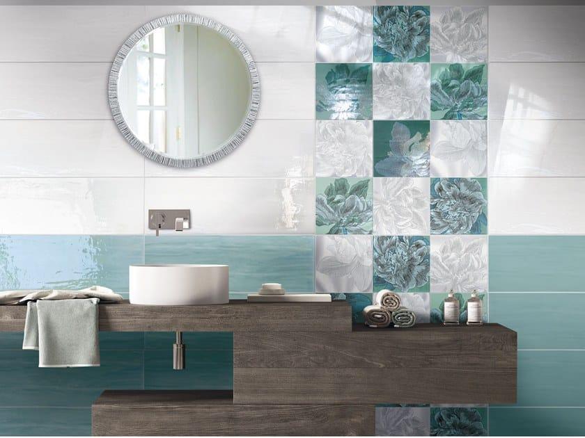 White-paste wall tiles ACQUA SUBLIME by CERAMICHE BRENNERO