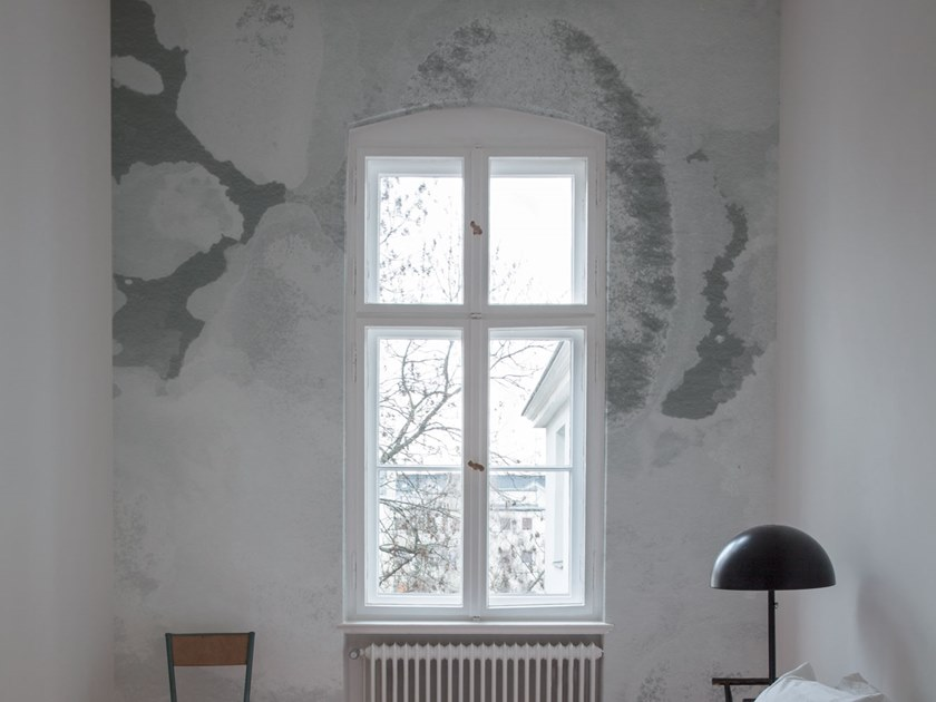 Fire retardant Digital printing wallpaper ACQUARELLO by NANNI GIANCARLO & C.