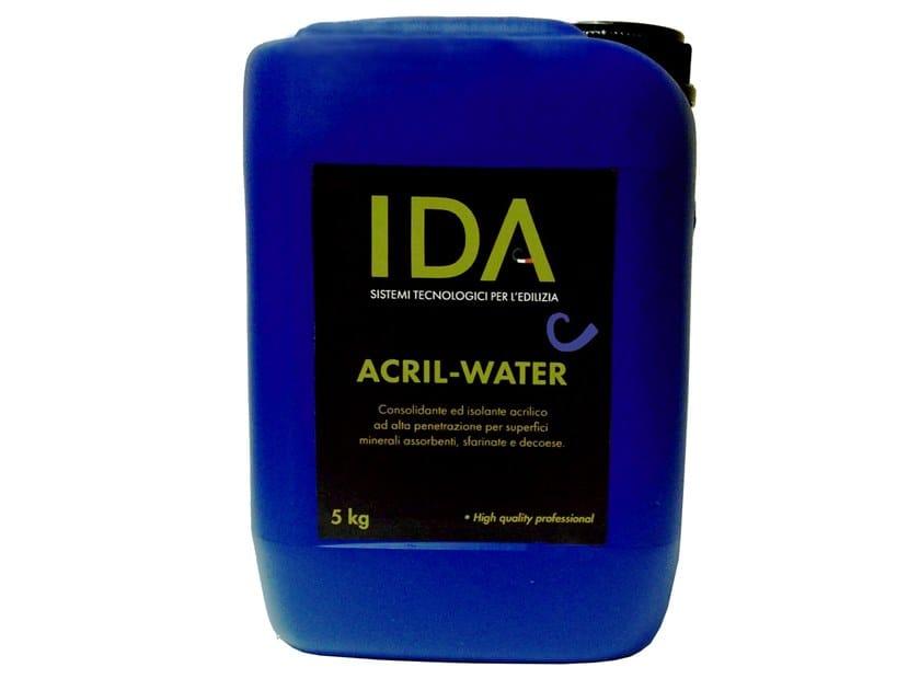 Masonry consolidation ACRIL-WATER by IDA