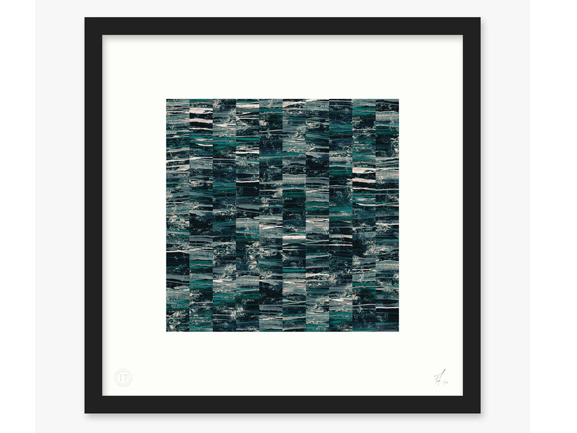 Print on paper ACRO- II by 17 patterns