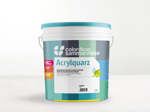 Anti-mould paint ACRYLQUARZ by Colorificio Sammarinese