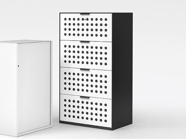 Steel filing cabinet ACTA.FERRO | Filing cabinet by König Neurath