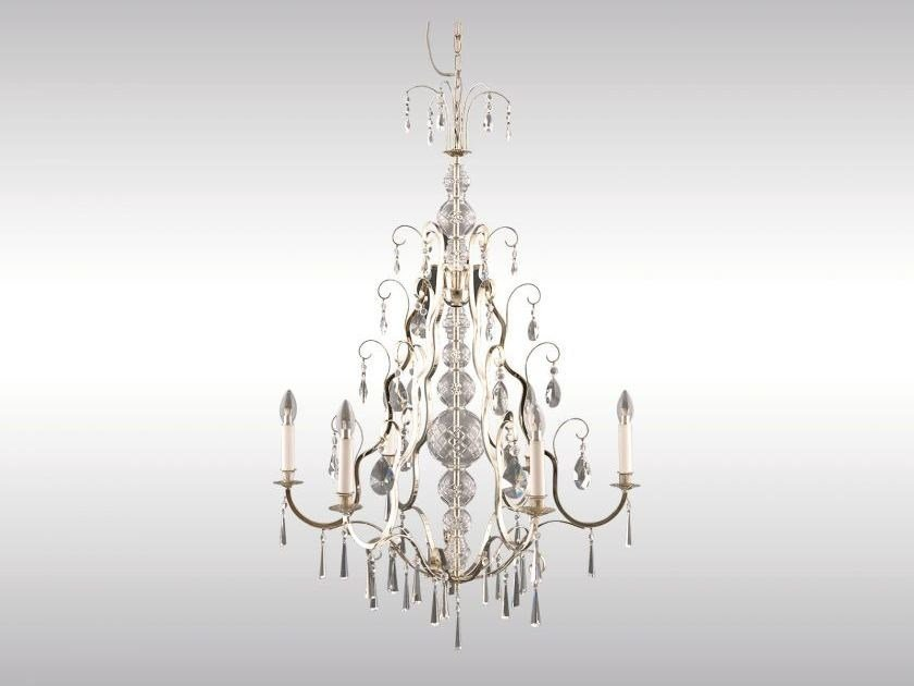 Classic style chandelier AD-CR by Woka Lamps Vienna
