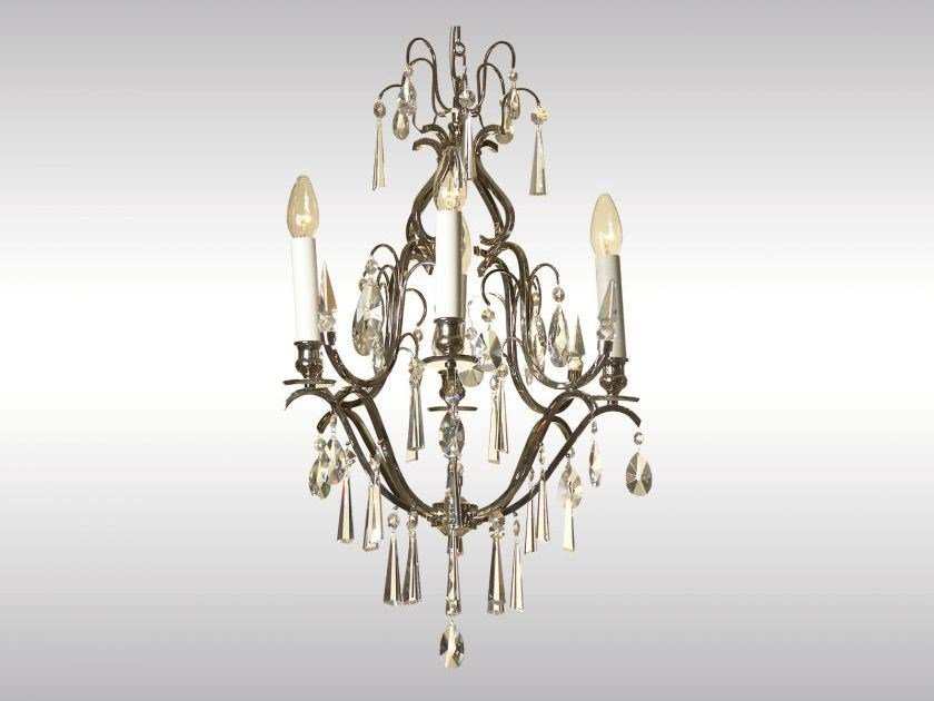 Classic style chandelier AD-KRISTALL, KLEIN by Woka Lamps Vienna