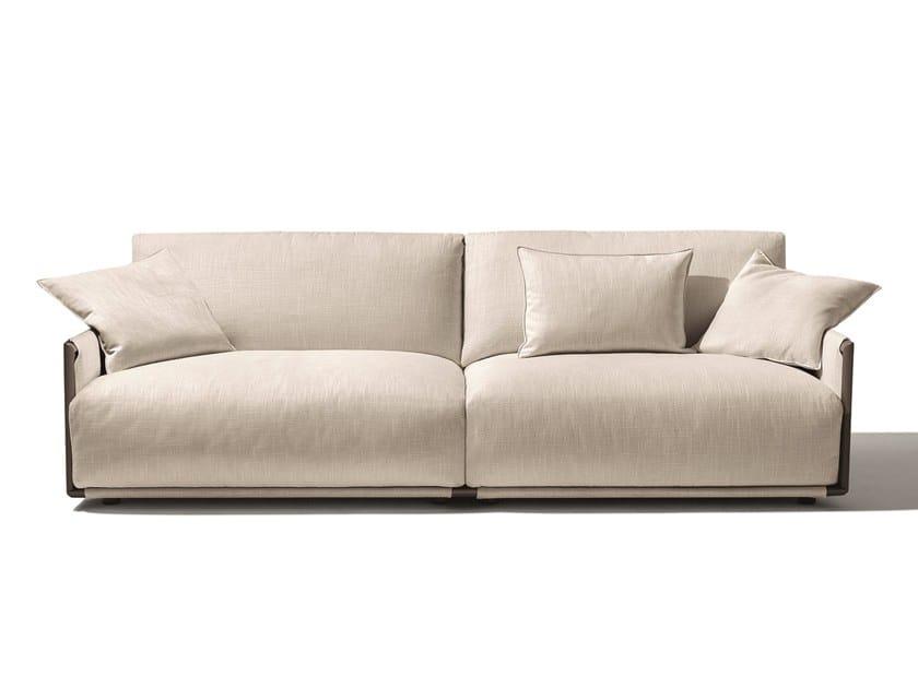 2 seater fabric sofa ADAM | 2 seater sofa by GIORGETTI