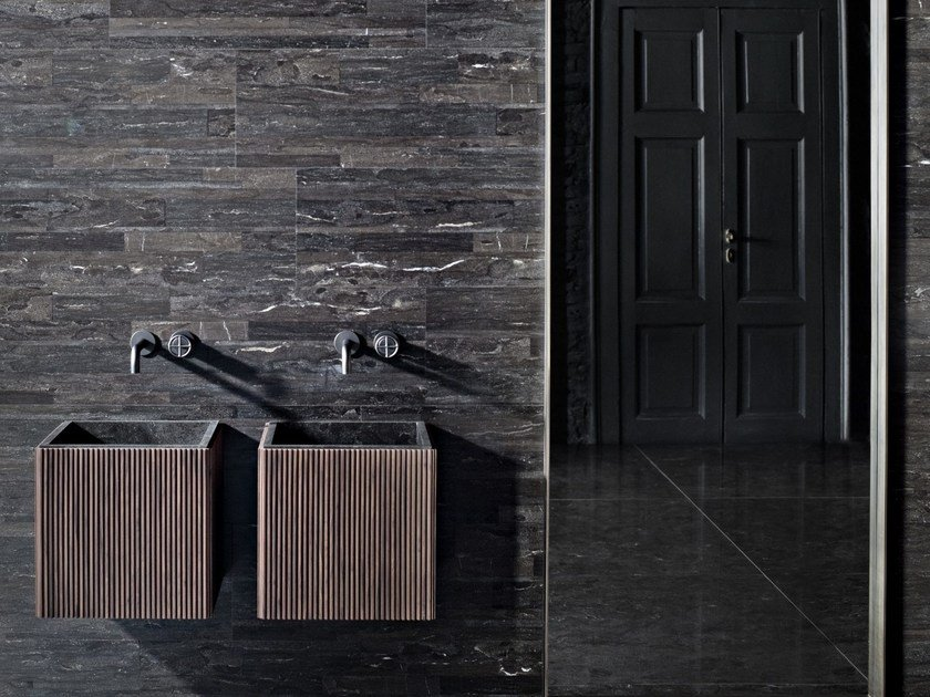 Square wall-mounted washbasin ADDA | Square washbasin by SALVATORI