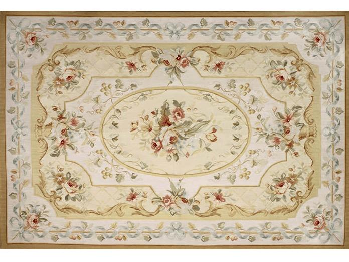 Handmade rectangular rug ADELAIDE by EDITION BOUGAINVILLE