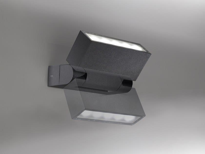 LED adjustable aluminium wall lamp STOLA   Adjustable wall lamp by Ailati Lights