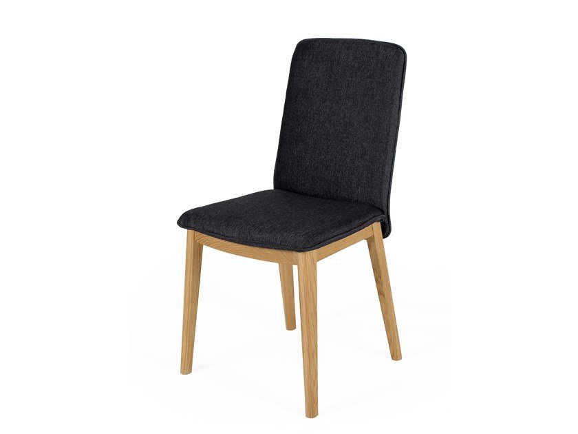 Upholstered fabric chair ADRA by Woodman