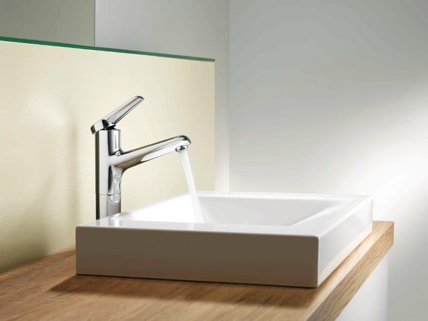 Chrome-plated washbasin mixer KWC ADRENA | Washbasin mixer by KWC