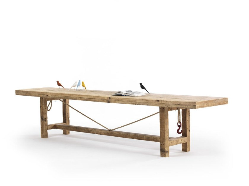 Rectangular spruce table ADSO by Vontree