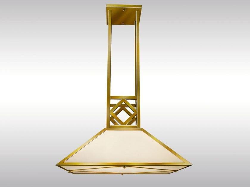 Classic style pendant lamp AEK/75 by Woka Lamps Vienna