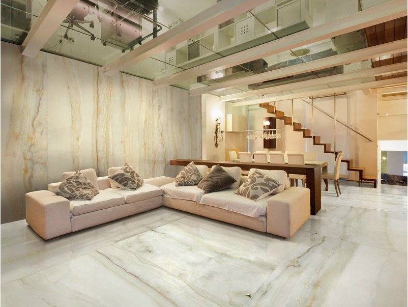 Porcelain stoneware wall/floor tiles with marble effect AESTHETICA HEGEL by AVA Ceramica