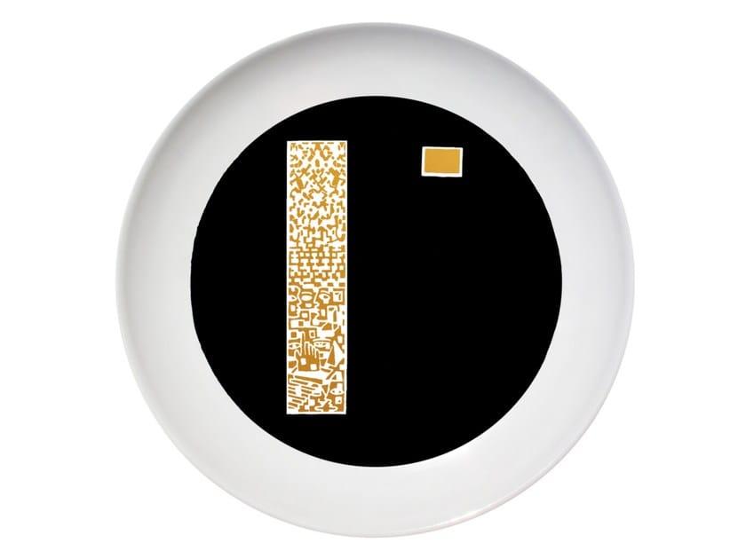 Ceramic dinner plate AFFINITY by Kiasmo