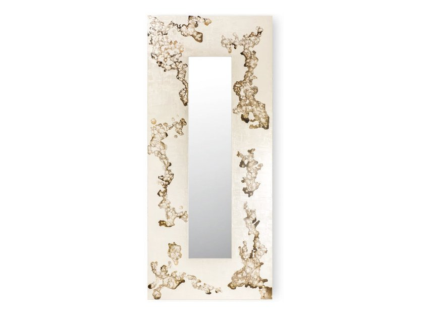 Rectangular wall-mounted framed mirror AFRICA FLOWING | Rectangular mirror by Cantori