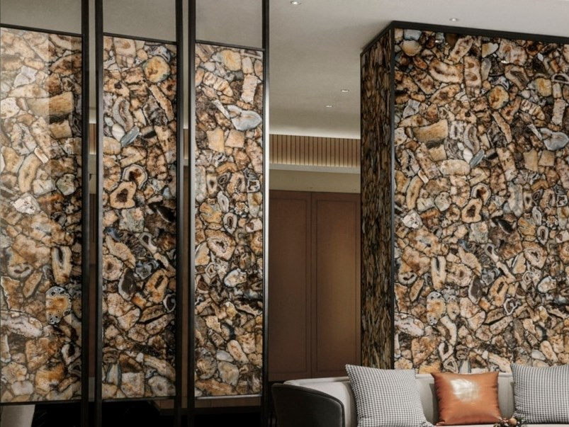 Pavimento/rivestimento in gres porcellanato effetto marmo AGATA ATENA by ARIOSTEA