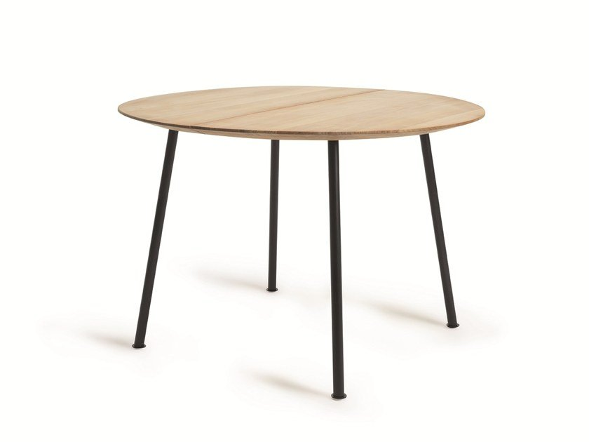 Round teak garden table AGAVE | Round table by Ethimo