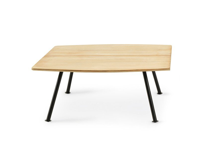 Square teak garden side table AGAVE | Square coffee table by Ethimo