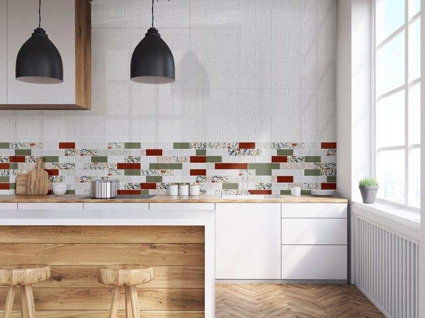Red-paste wall tiles AGEBRICK by ITT Ceramic