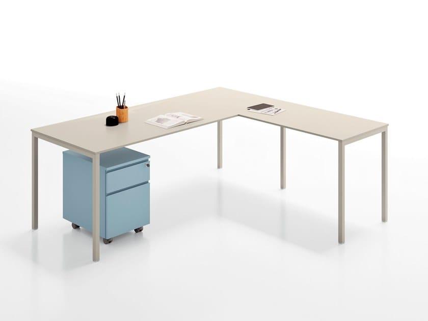 Scrivania ad angolo in legno agile scrivania ad angolo martex