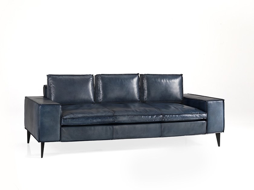 3 seater leather sofa AGIO | 3 seater sofa by Oliver B.