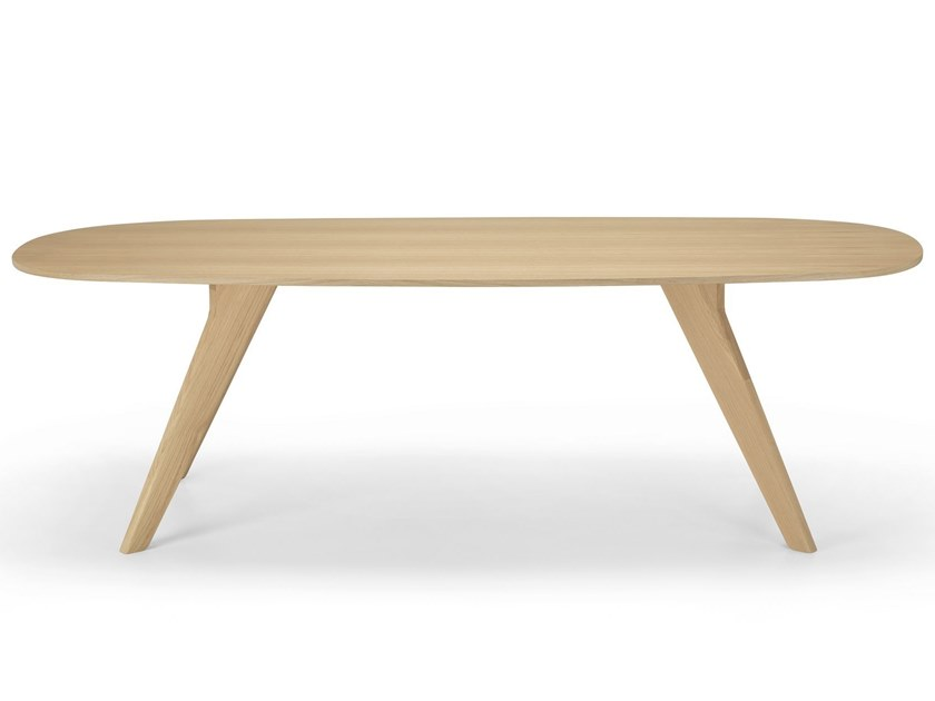 Oak table AGO - AG3 by Alias