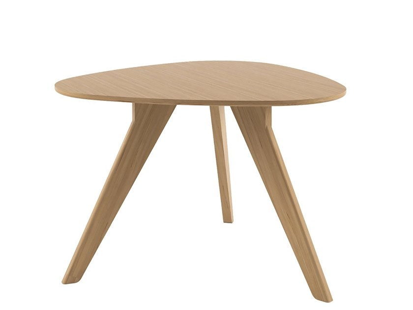 Oak table AGO - AG4 by Alias
