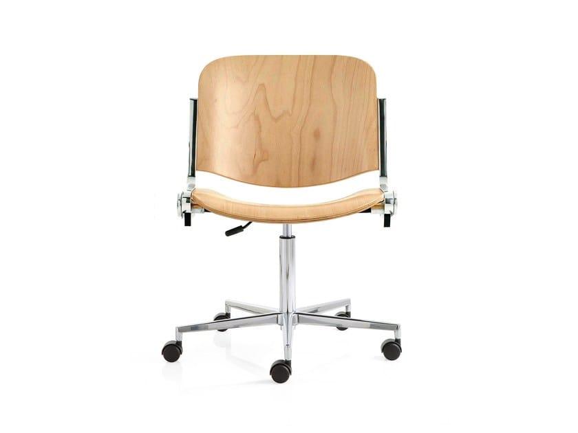 Swivel task chair with 5-Spoke base AGORÀ | Task chair with 5-Spoke base by Emmegi