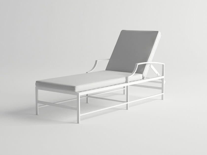 Recliner aluminium garden daybed AGOSTO | Garden daybed by 10Deka