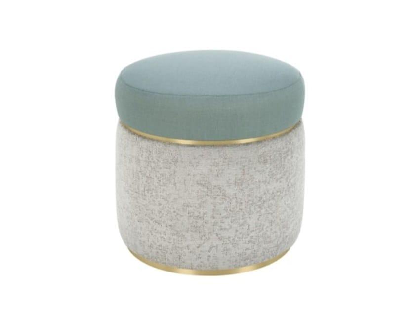 Pouf rotondo in tessuto AGRA | Pouf by FRATO