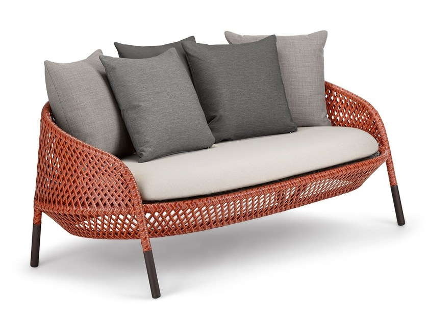 2 seater sofa AHNDA | Sofa by DEDON