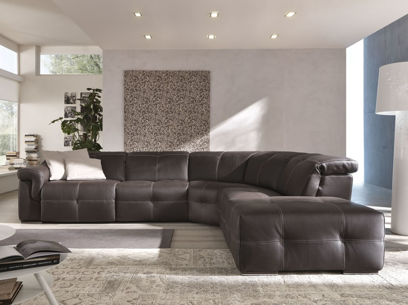 Sectional relaxing sofa AIKO | Sectional sofa by Egoitaliano