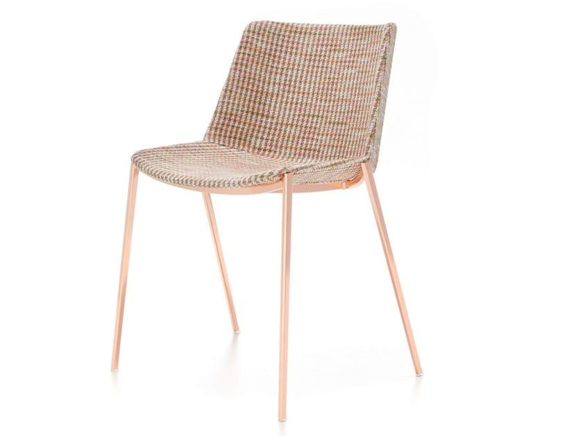 AÏKU SOFT | Chaise en tissu Collection Aïku By MDF Italia design ...