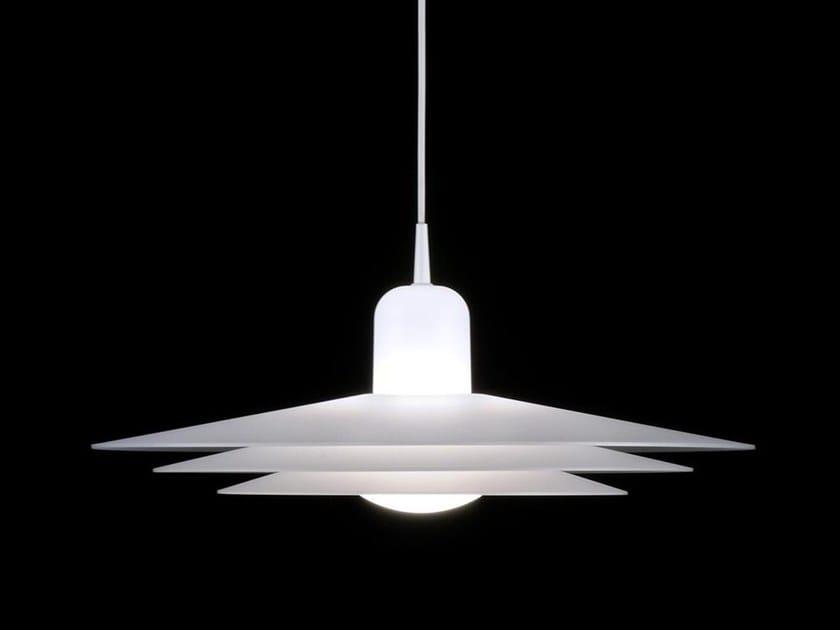 LED polycarbonate pendant lamp AINA 6683 by Milan Iluminacion