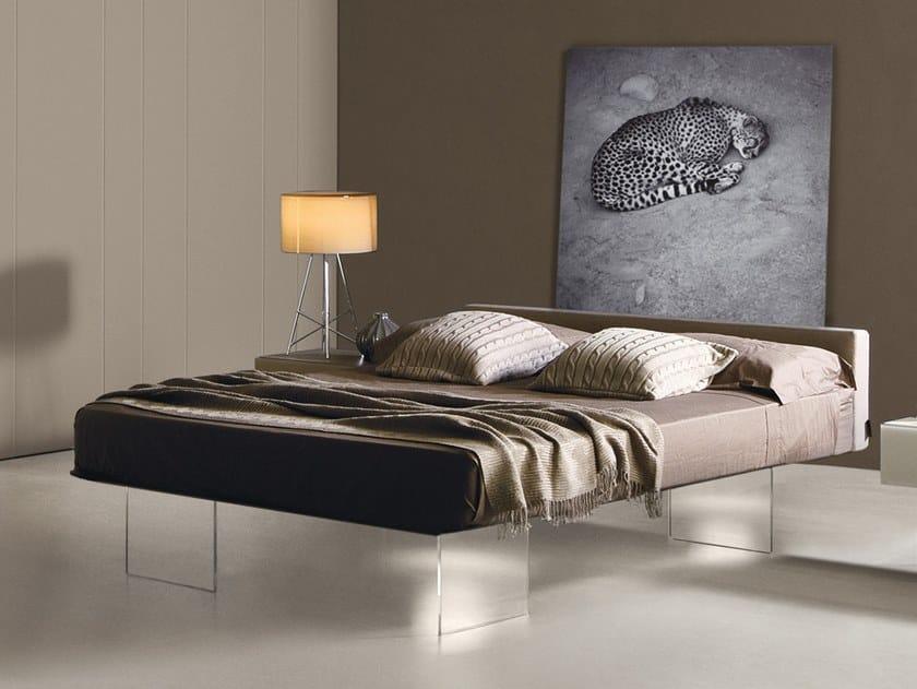 AIR | Bett mit Polsterkopfteil Kollektion Air By Lago Design Daniele ...
