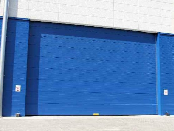 Sectional door AIR-TIGHT by CAMPISA