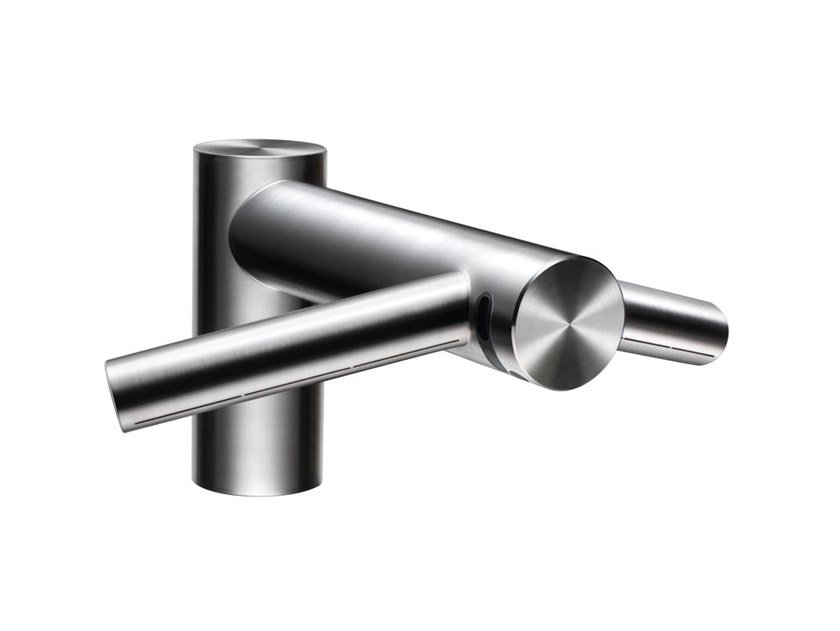 Stainless steel Tap for public WC / Electric hand-dryer AIRBLADE WASH+DRY short by Dyson