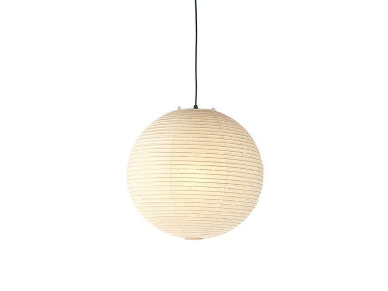 Japanese paper pendant lamp AKARI 45A by Vitra