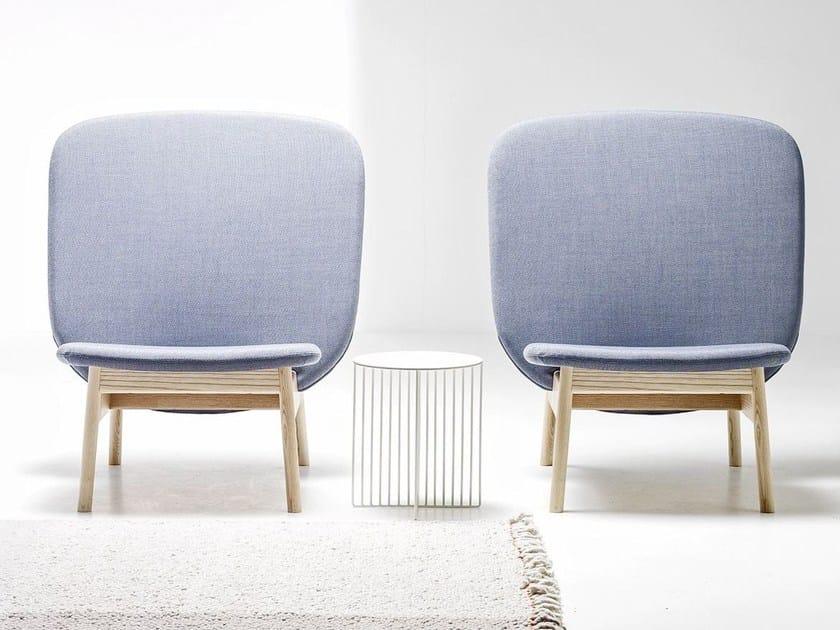 Upholstered armchair ALA | Armchair by La Cividina