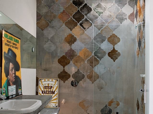 Wall effect bathroom wallpaper ALADINO WET SYSTEM 16 ...