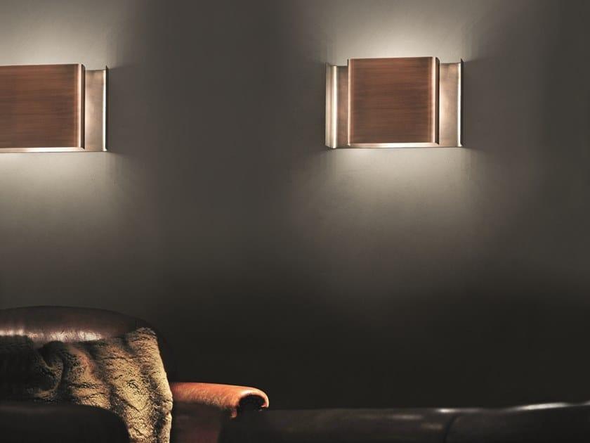 Metal wall lamp ALALUNGA by Quadrifoglio