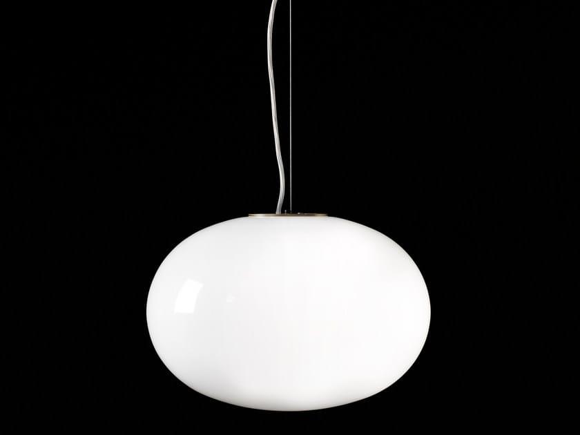 Lámpara colgante de latón ALBA - 465 by Oluce