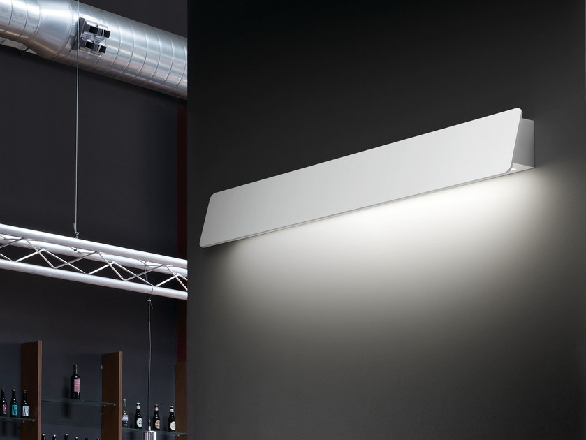 Aluminium wall lamp ALBA 60 by BOVER