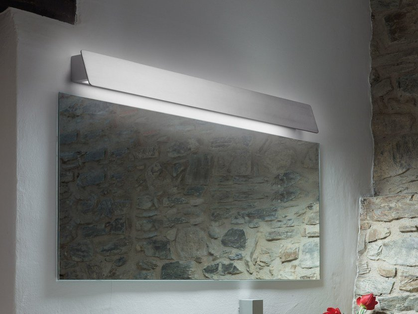 Fluorescent wall lamp ALBA 90 by BOVER