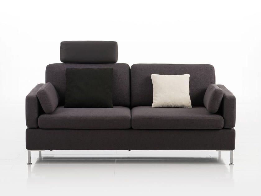 Divano Trasformabile Design.Alba Divano In Tessuto Collezione Alba By Bruhl Design